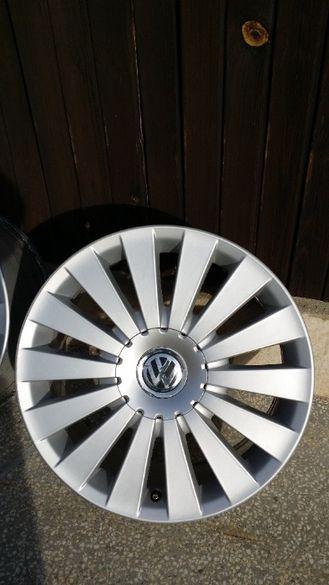 Нова оригинална лята джанта с нова гума от Пасат 7,5Jх17,ЕТ47