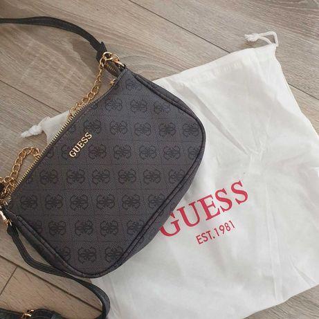 Geanta Guess baguette mini bag