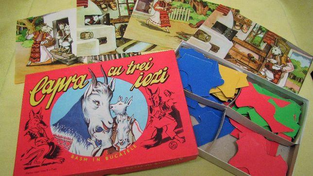 Capra cu 3 iezi - joc de colecție / produs 1967