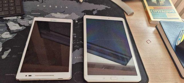 Планшет Samsung и Asus