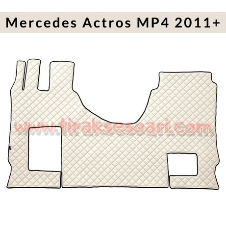 Кожени стелки за Mercedes Actros 2013+ MP4, Euro 6, Мерцедес Актрос