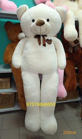 2-м 17 990тг Акция Скидки! Большой плюшевый Медведь Мишка Тедди
