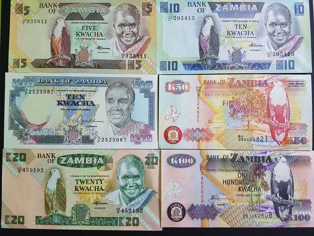 Lot Bancnote Zambia