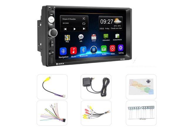 Navigatie dvd auto Android 8.1, 2Din mp5 player Garantie