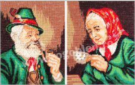 Goblen Bunicul si Bunica