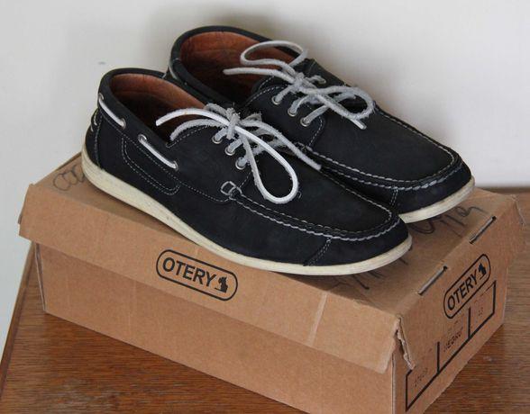 Pantofi OTTER, masura 43, nabuc, bleumarin