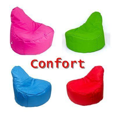 Fotoliu Puf Confort Mare – 110 cm – Bean Bag – div culori - Nou