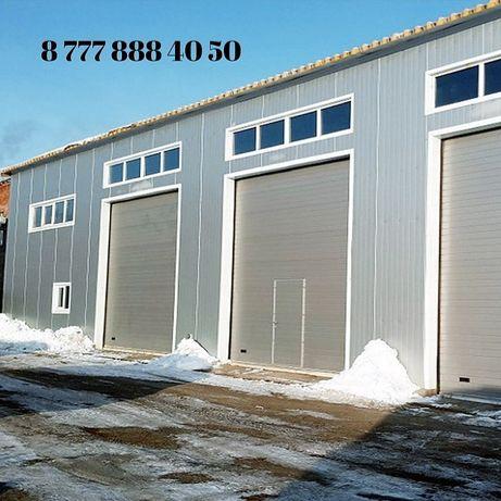 Изготовление, установка и ремонт откатных, гаражных ворот.
