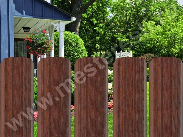 Sipca Gard Grosime 10 cm Culoare Stejar, Transport Gratuit