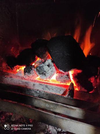 Природный древесный уголь для шашлыка 40 кг