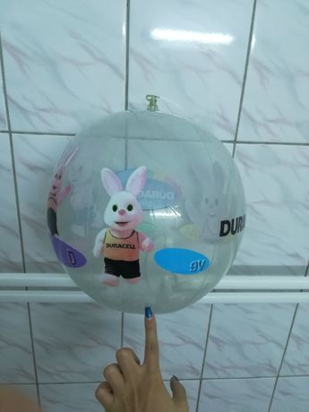 Minge gonflabla plaja cu model iepurasi diametrul 35 cm - Noua