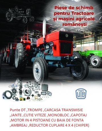 Piese Tractor 445 DT ,445 ,u651,punte 4 x4 ,reductor ,etc