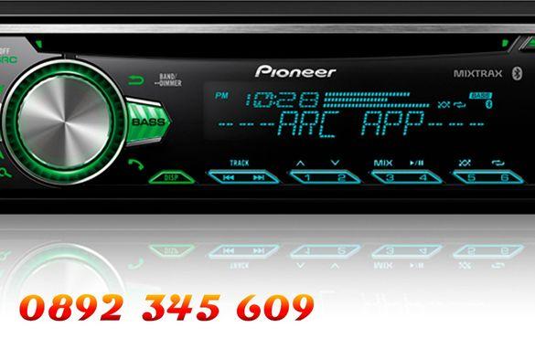 MP3,USB,SD радио плеар PIONEER DEH-4303,четящ USB flash,SD картa