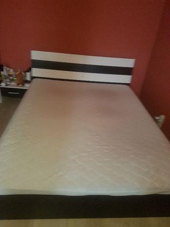 Спален комплект без матрак - спалня и 2 нощни шкафчет