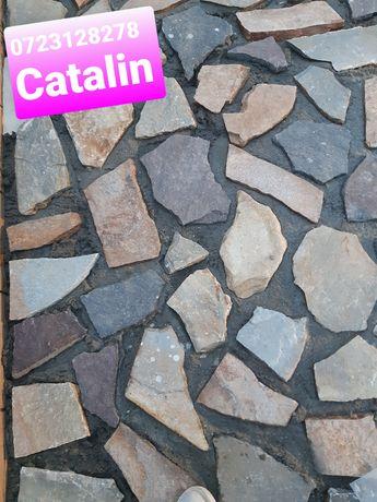 Piatră naturală diferite nuanțe