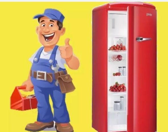 Срочный ремонт холодильников заправка фреона