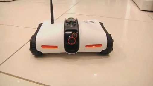 Brookstone Rover Spy Tank with Night Vision Control From Iphone