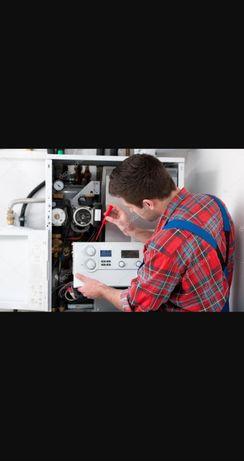Ремонт бытовой техники   газовый котёл  стиральный машина