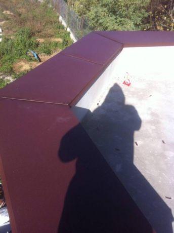 Atice metalice acoperis, borduri speciale, confectii metalice