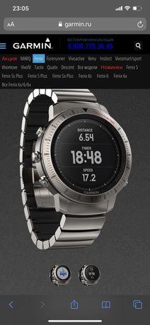 Часы Garmin FENIX® Chronos