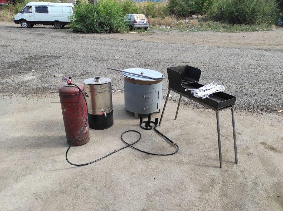 Аренда казан мангал бойлер для воды титан горелка прокат
