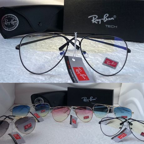 Ray-Ban 3025 Neo висок клас унисекс прозрачни слънчеви очила авиатор