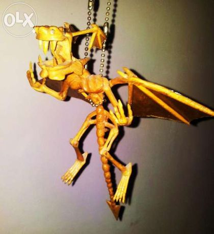 Дракони Скелети Сувенири Изработени Ръчно От Дърво,Дървопластика