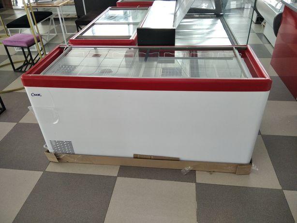 Морозильный ларь стеклянный витрина для магазинов мороженое