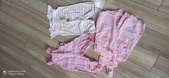 Лот бебешки дрехи гащеризони 3-6 месеца Дисни Disney TU
