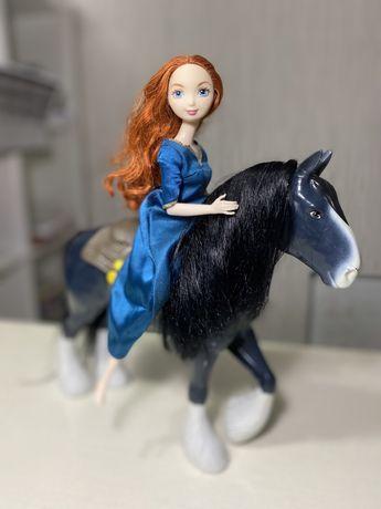 Кукла мерида с лошадью