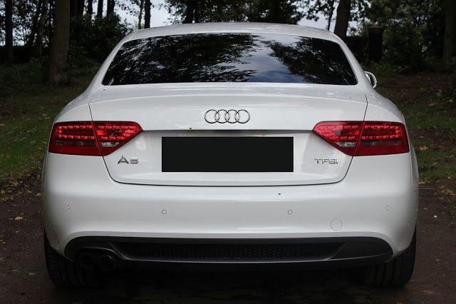 Difuzor bara / prelungire bara spate Audi A5 8T Coupe S-Line 07-11