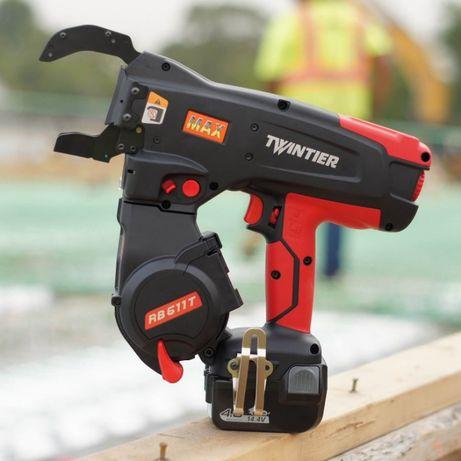 Masina / pistol pentru legat fier beton MAX