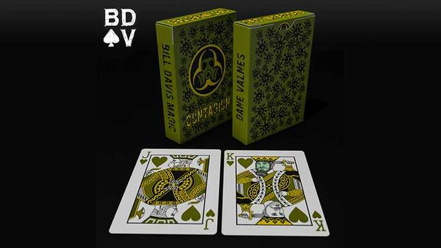 Carti de joc Contagion by US Playing Card Co