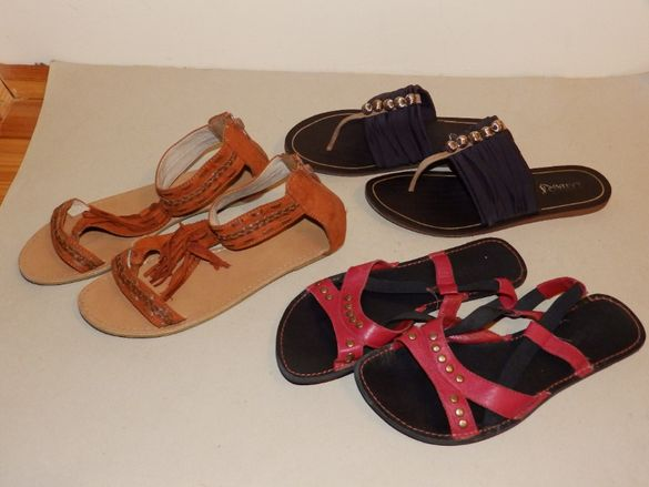 Дамски сандали на различни цени