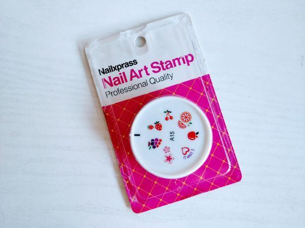 Ștampilă pentru unghii (Nail Art Stamp) - manichiură