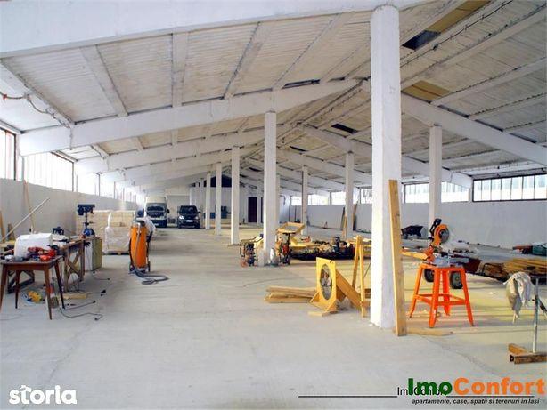 Hala de 1200mp cu 850mp teren, pentru productie - depozitare, la E85 -