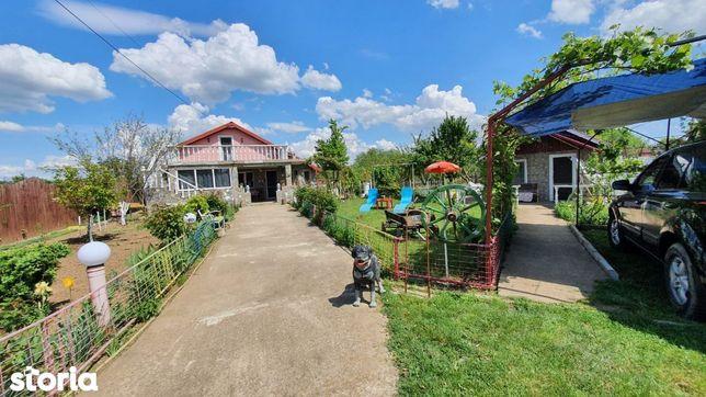 Ialomița–Rădulești,casa de vanzare,2 imobile, 2500mp