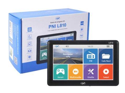 GPS camion 7 inch PNI nou actualizare online gratuita 4 programe