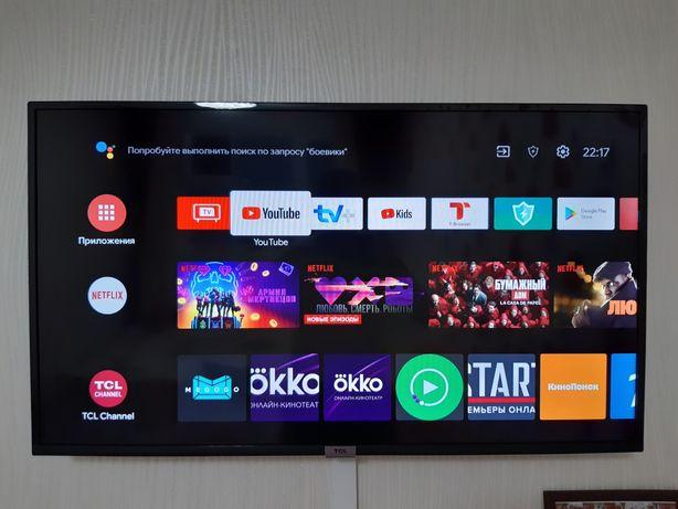 Продам телевизор TCL LED Android TV 40 диюм
