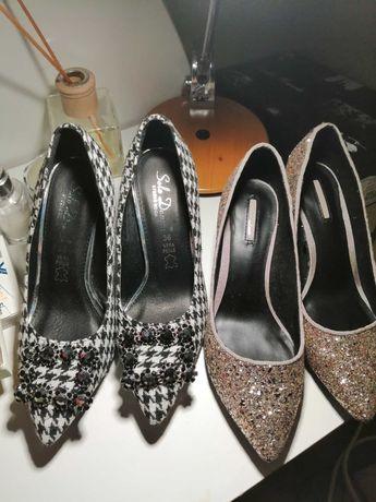 Reducere pret!! 2 perechi pantofi,36,noi cu eticheta Berska, Benvenuti