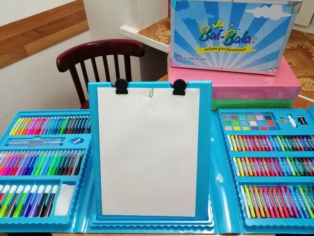 Набор для творчества 176 предметов в наличии. Супер подарок для детей