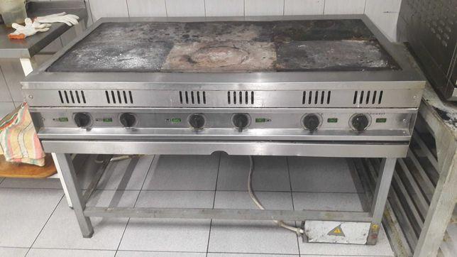 Плита электр профессиональная б/у, мармиты вторых блюд и салатов б/у