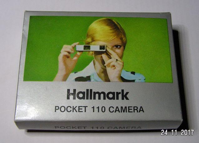 Aparate foto cu film, de colectie Hallmark Pocket 110