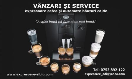 Reparatii , service espressoare , expresoare de cafea