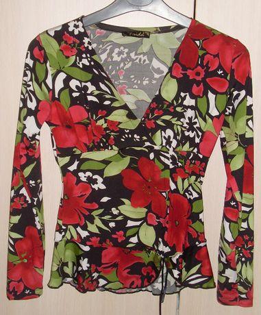 Дамска флорална блуза