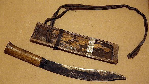 """Продавам оригинален винтидж непалски нож """"кукри"""" от Източните Хималаи,"""