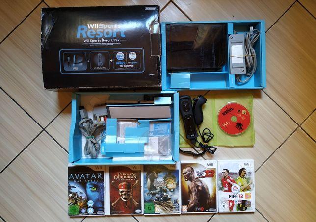 Consola Wii vine in cutia originala, accesorii originale & jocuri!