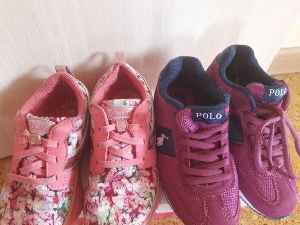 Лот маратонки S.Oliver и Polo Ralph Lauren