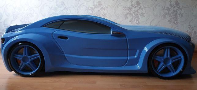Продам детскую 3D кровать-машину