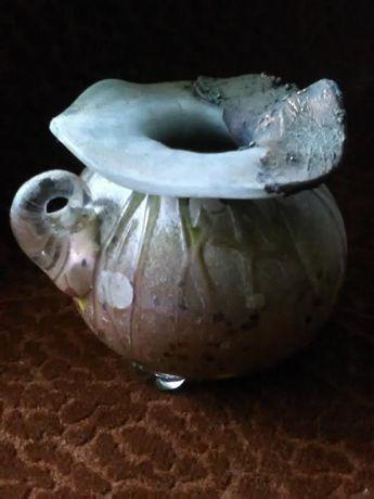 Arta - Vaza de colectie sticla si metal
